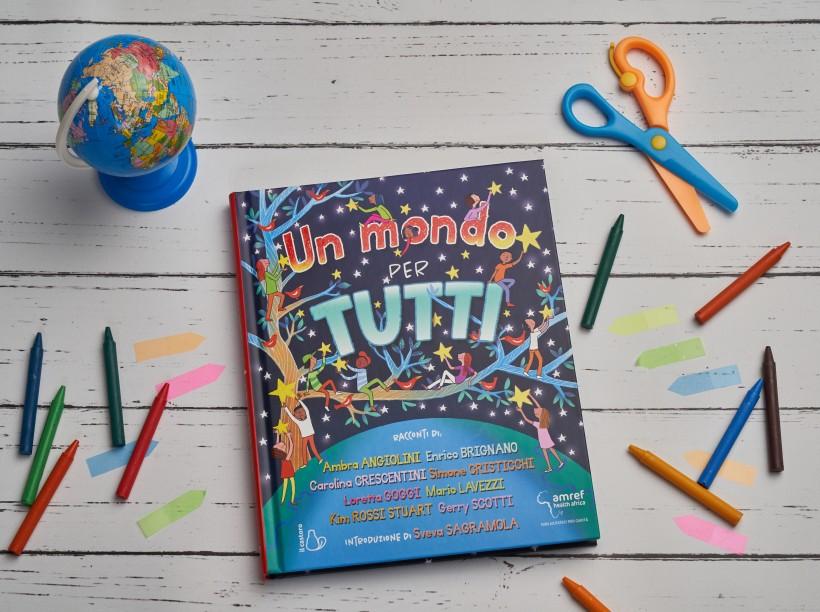 """Libro per bambini """"un mondo per tutti"""""""