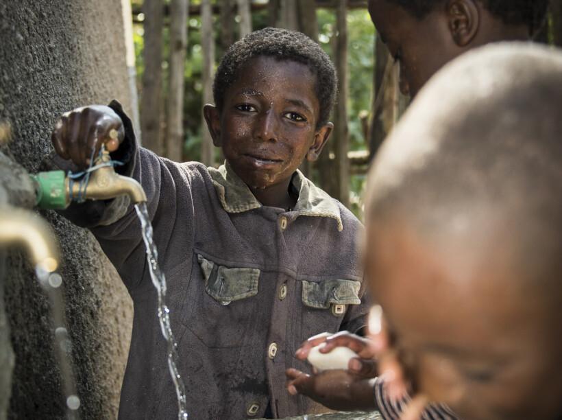 Kit di sanificazione dell'acqua