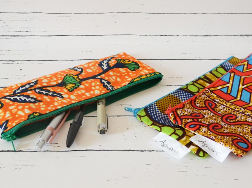 Astuccio in stoffa africana
