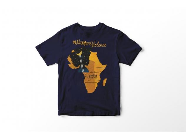 T-shirt #NoMoreViolence Amref
